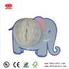 elephant shape tissue paper honeycomb paper craft kit