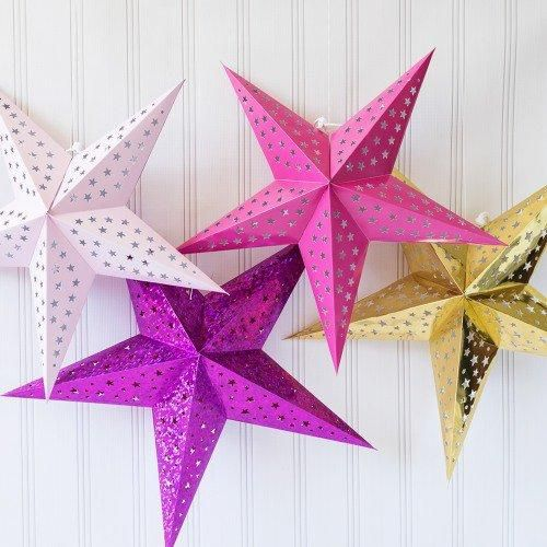HOT SALE three - dimensional hanging star lamp wedding decoration