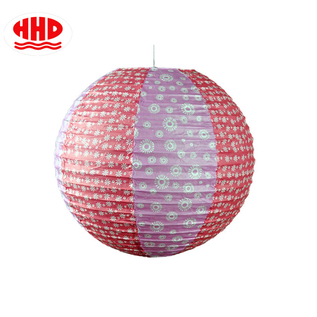 Chinese Handmade Pop Liberty Printed Paper Lantern Wholesale