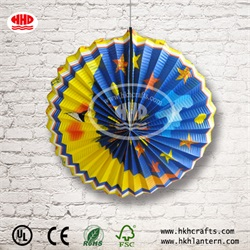 Chinese Wholesale Collapsible Handicraft Accordion Lantern Animal Paper Lantern for Party, Home Decoration