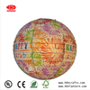 "14"" Fireworks Printable Collapsible Handicraft Globe Paper Lanterns for Holiday Festival Party"