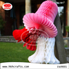 Christmas hanging decorations tissue paper honeycomb bell lamp