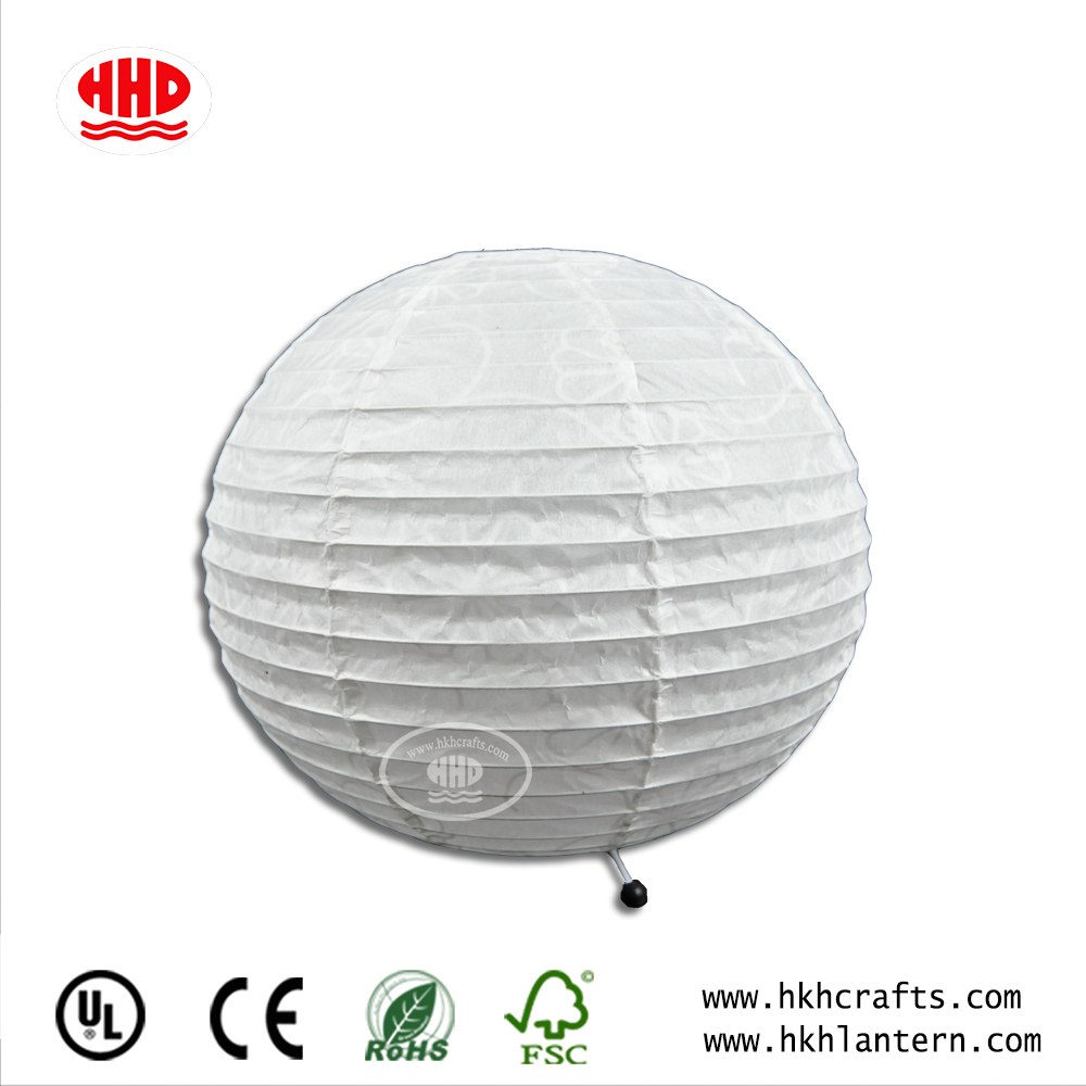 home decoration modren paper table lantern