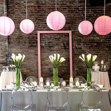 Bulk Sales White Round Honeycomb Paper Lanterns for Wedding Party Decoration