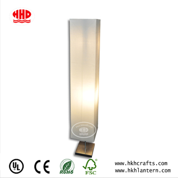 Unique Home Improvement Equipment Paper Standard Lamp with Electric Part