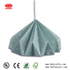 Hot Sell Amazing Origami Lamp Shade Blue Lanterns