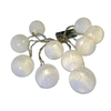 Hot Selling Grey Cotton Balls Battery Operated Romantic Led Lights String for Home Decoration