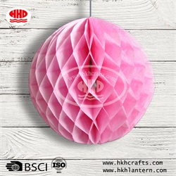 Art Paper Honeycomb Balls Party Design Wall Decoration Flower Balls