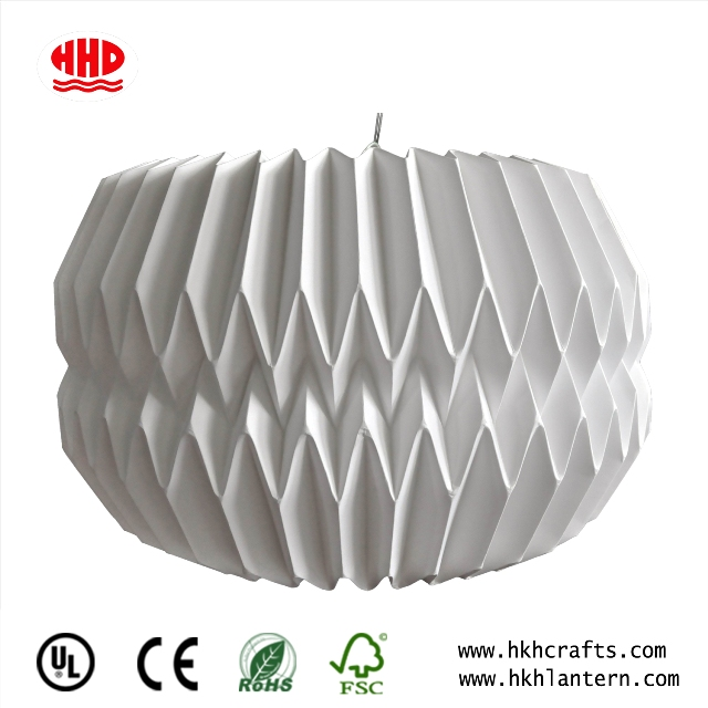 Crafts And Gifts White Paper Origami Paper Lampshade Home Decor