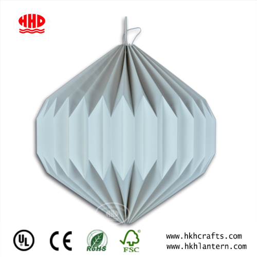 Home Lighting Pendant Origami Style Paper Lampshade From Factory Wholesale