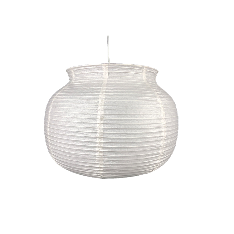Highly Welcomed Bowl Shape Large Size Round Oval Rice Paper Lap Shades